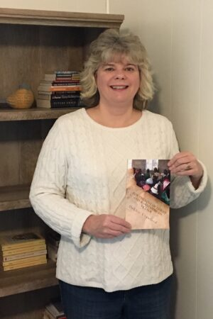 Deb Crawford and Book IMG_2027